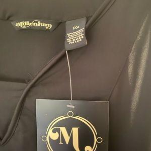 Millennium Maxi all black dress!!